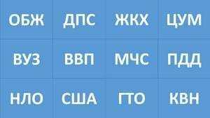 Abbreviatury