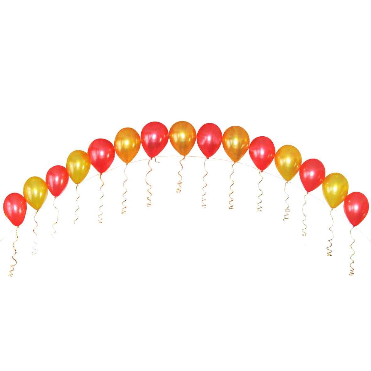 Оформление мероприятия воздушными шарами в Екатеринбурге